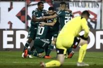 Palmeiras supera Colo-Colo no Chile e fica perto da semifinal da Libertadores