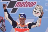 Marc Marquez ganha etapa de Aragão e fica perto do quinto título na MotoGP