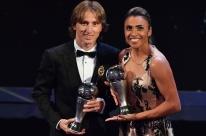 Modric é o melhor do mundo; Marta vence pela 6ª vez