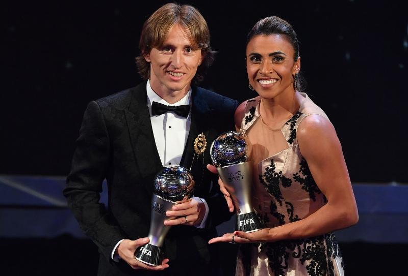 Premiação da Fifa foi realizada ontem em Zurique, na Suíça