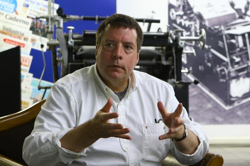 John Williamsom, norte-americano expert em games e realidade virtual, participou de evento na Capital