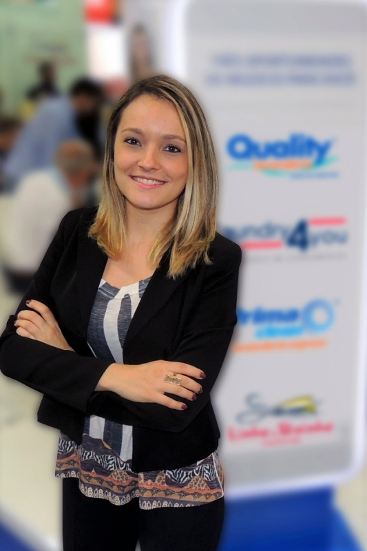 Danielle Denys é gerente de marketing do Grupo Acerte Franchising