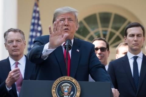 Trump critica relações comerciais EUA-Brasil