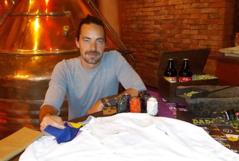 Rodrigo Kronbauer, da Sueka, vai criar camisetas para a Dado Bier