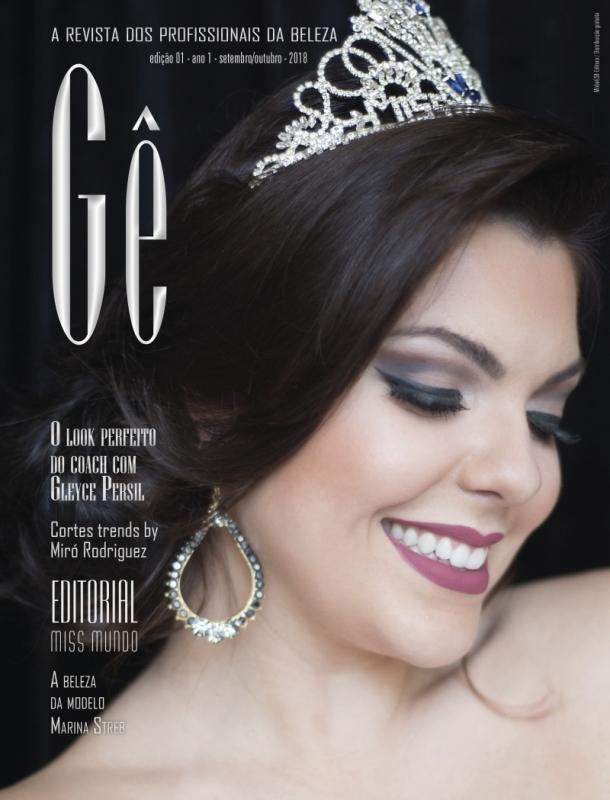 Capa revista Gê - Coluna Intervalo - divulgação coletiva