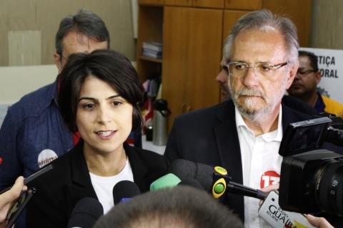 Manuela e Rossetto manifestam solidariedade à Fortunati nas redes sociais