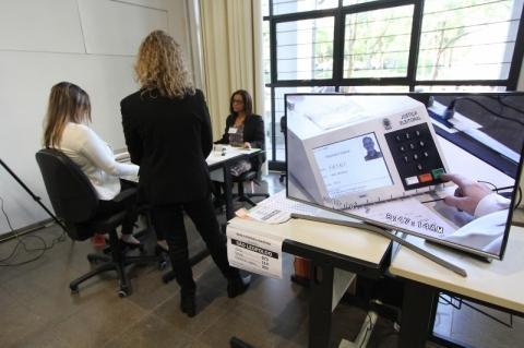 Sorteio das urnas que terãovotação paralela ocorre neste sábado