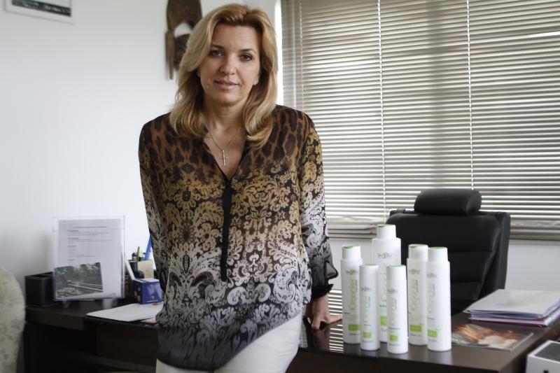 Sabrina Rosa lançou uma linha de cosméticos vegana, a Organker