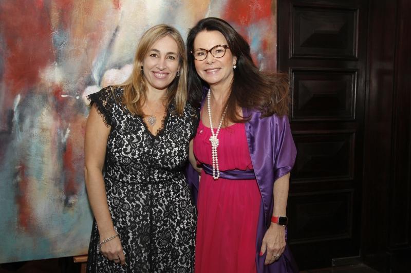 Silvina Frech e Maira Caleffi, presidente e fundadora do Imama