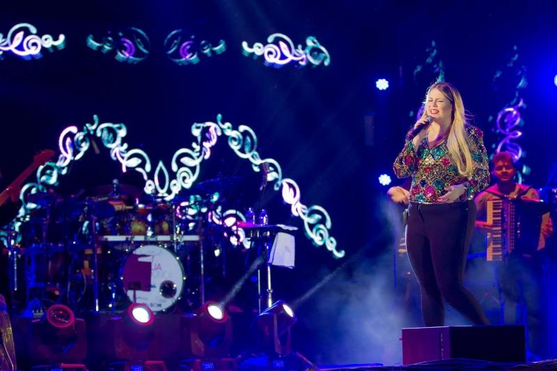 Show de Marília Mendonça é atração no Auditório Araújo Vianna
