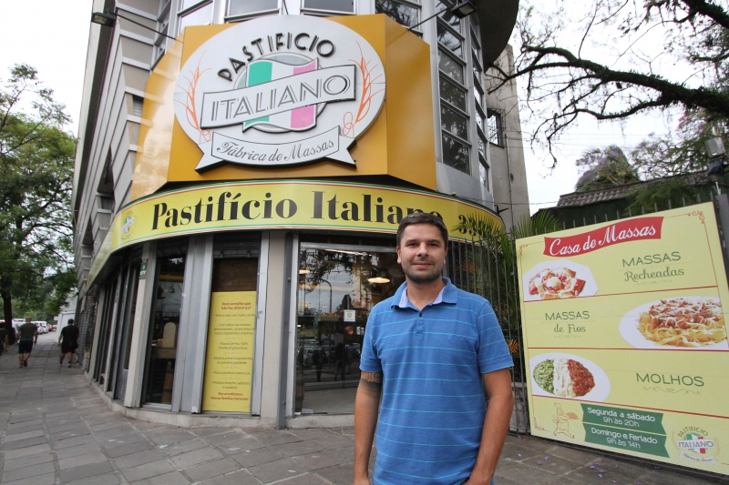 Heidemann, sócio do Pastifício Italiano, irá pela primeira vez ao evento