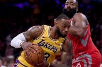 Houston Rockets vence em estreia de LeBron James na casa do Los Angeles Lakers