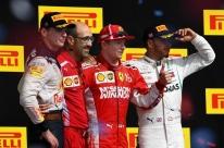 Hamilton não aproveita vacilo de Vettel, termina em 3º nos EUA e penta é adiado