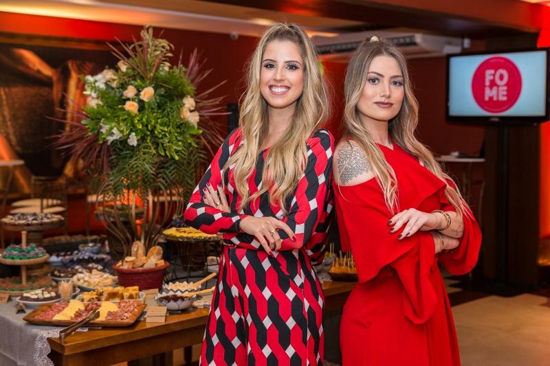 Luisa Ramirez e Ana Olívia Winiemko lançaram a empresa Fome Digital no espaço de eventos Koh Pee Pee Thai House