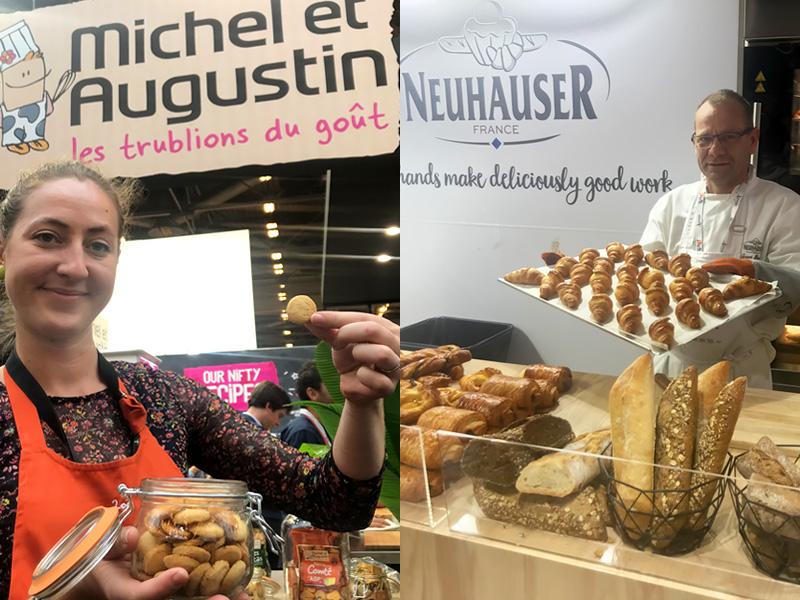 Duas marcas de itens de padaria e comidas frescas e biscoitos têm interesse