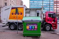 Prefeitura instala 45 contêineres para resíduos recicláveis no Centro Histórico