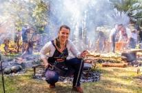 Mulheres comandam festival de churrasco em Porto Alegre