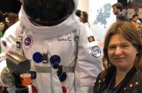 Astronauta serve café espresso a visitantes do Web Summit Lisboa