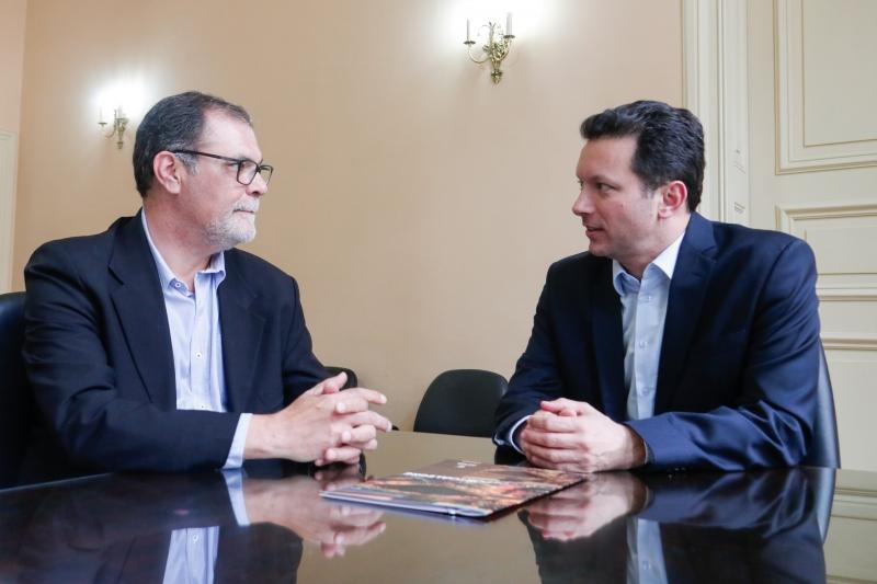 O prefeito Marchezan (D) anunciou que Cidade (E) vai assumir secretaria no dia 15 de novembro