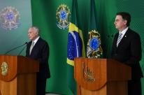 Temer está disposto a colaborar, diz Bolsonaro