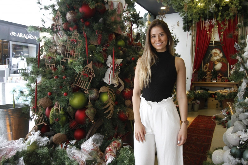 Sofia lançou a Mr. Klaus, que foi instalada no Shopping Iguatemi