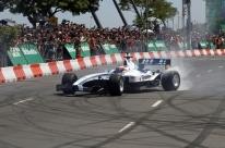 Orla vira pista para manobras da Fórmula 1 em Porto Alegre