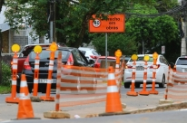 Prefeitura de Porto Alegre finalizará obras da trincheira da Anita Garibaldi nesta quinta