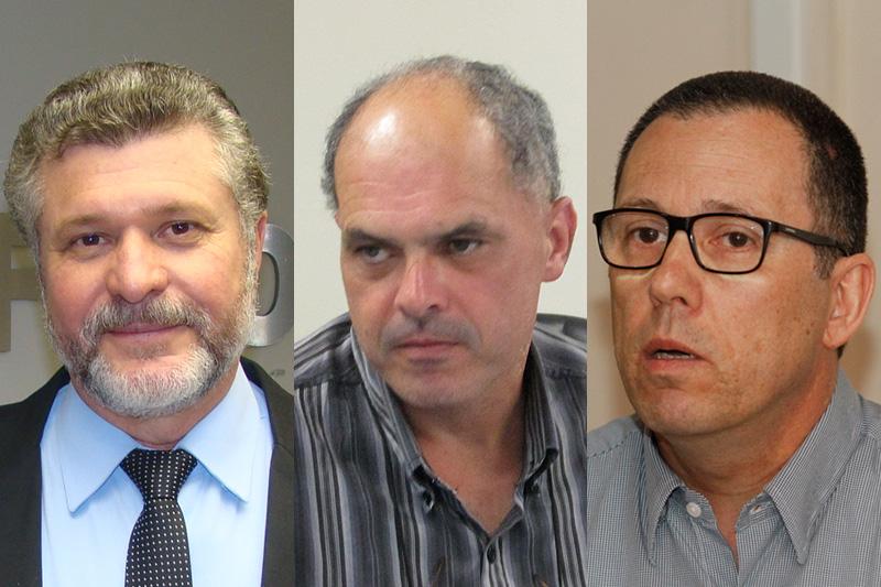Silva (esquerda), Tolfo (centro) e Horn criticaram a declaração do presidente eleito sobre a categoria