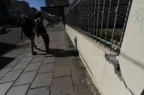 Rachado há um ano, muro da Casa dos Conselhos passará por reparos