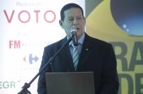 'Manteremos a posição', diz Mourão, presidente em exercício