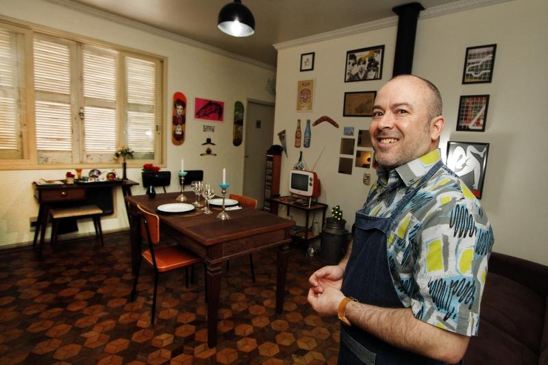 Chef Marcos Cardozo é quem administra a Casa Cardozo
