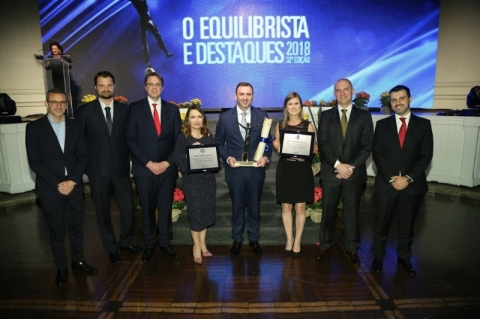 Presidente da BSBios recebe Troféu O Equilibrista 2018