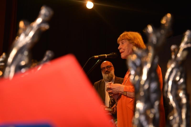 Zoravia Bettiol foi homenageada na edição do festival de cinema e é celebrada em filme