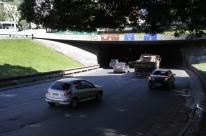 Iluminação volta ao normal no túnel da Conceição em Porto Alegre