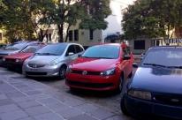 Veículos têm placas furtadas no Centro Histórico de Porto Alegre