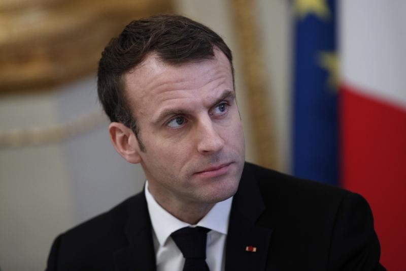 """""""O que queremos fazer é ajudar as pessoas, com completo respeito pela soberania"""", afirmou Macron"""