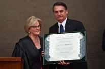 Bolsonaro e Mourão são diplomados no TSE