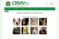 Conselho Regional de Medicina Veterinária lança campanha contra o abandono de animais