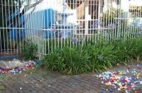 Ladrões furtam tampinhas que seriam vendidas para ajudar crianças com câncer
