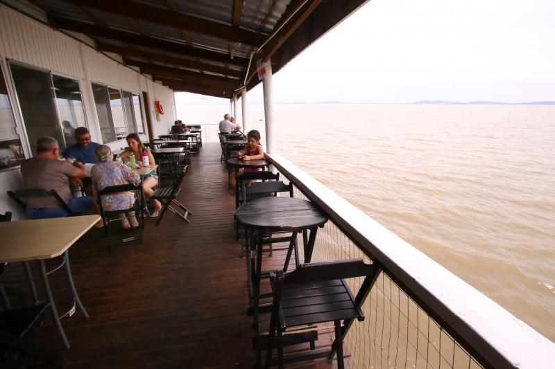 Localização inusitada do restaurante é um de seus grandes atrativos