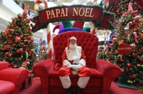 Natal exige preparo físico e psicológico, diz Papai Noel