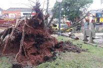 Temporal deixa mais de 70 residências danificadas no Rio Grande do Sul