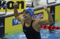 Atletas do Brasil vibram com nono lugar em medalhas no mundial de Natação na China
