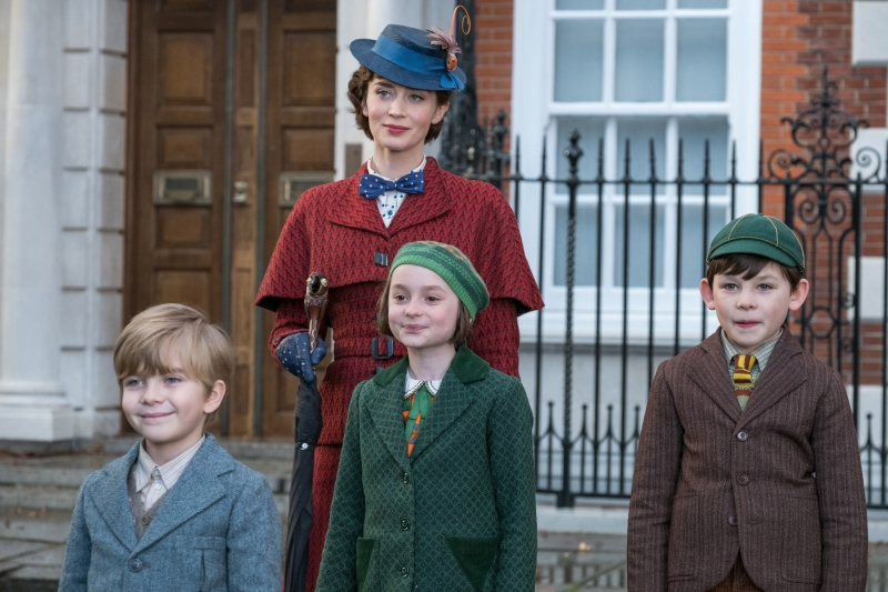 Emily Blunt revive papel de Julie Andrews no longa O retorno de Mary Poppins