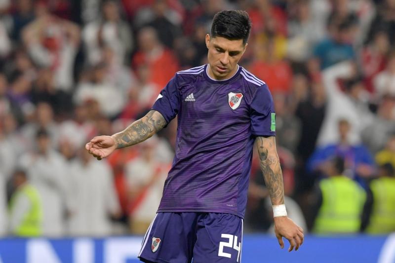 Para a tristeza dos argentinos, Enzo Perez perdeu a última cobrança