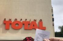 Shopping Total implanta QR Code no estacionamento