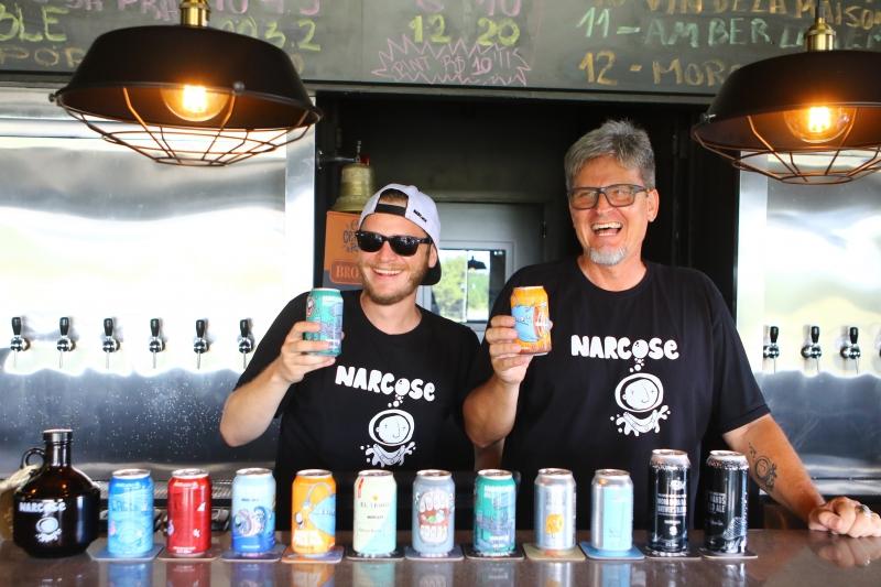 Especial Verão Litoral - Geração E na foto: Daniel e Raul Diehl, Cervejaria Narcose em Capão da Canoa