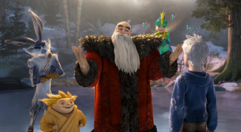 Papai Noel e Coelhinho da Páscoa têm versões diferentes em A Origem dos Guardiões