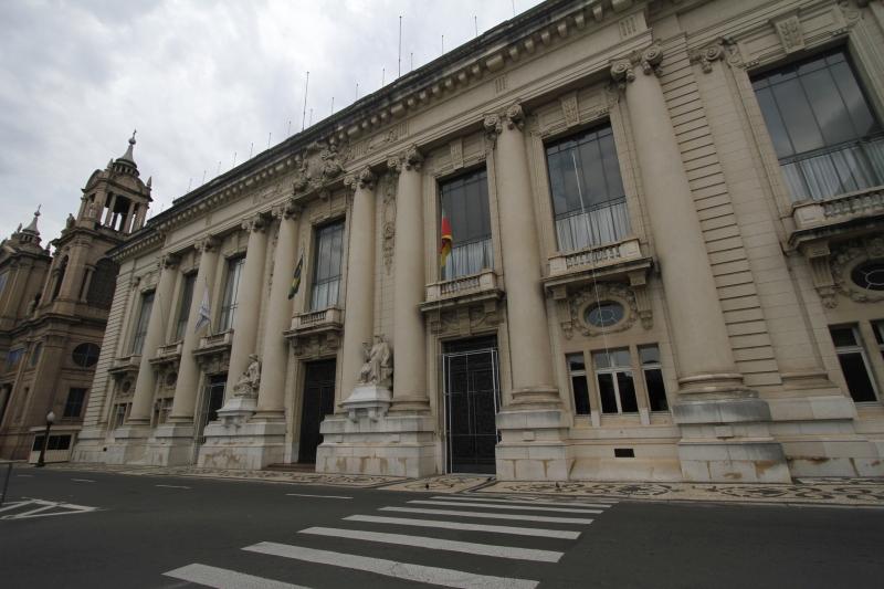 Cerimônias serão realizadas na Assembleia Legislativa e no Palácio Piratini (foto)