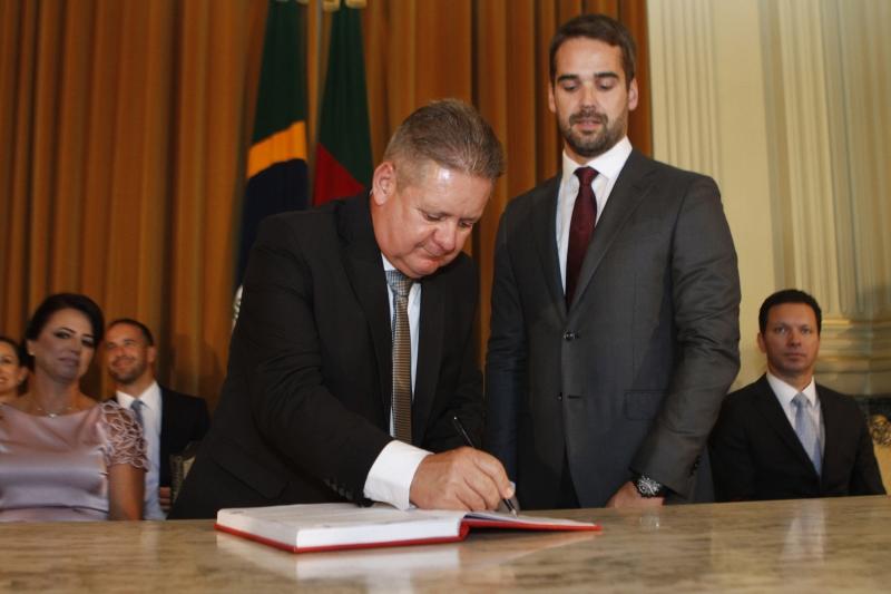 Vice-governador ocupa duas secretarias - a de Segurança Pública e a de Administração Penitenciária